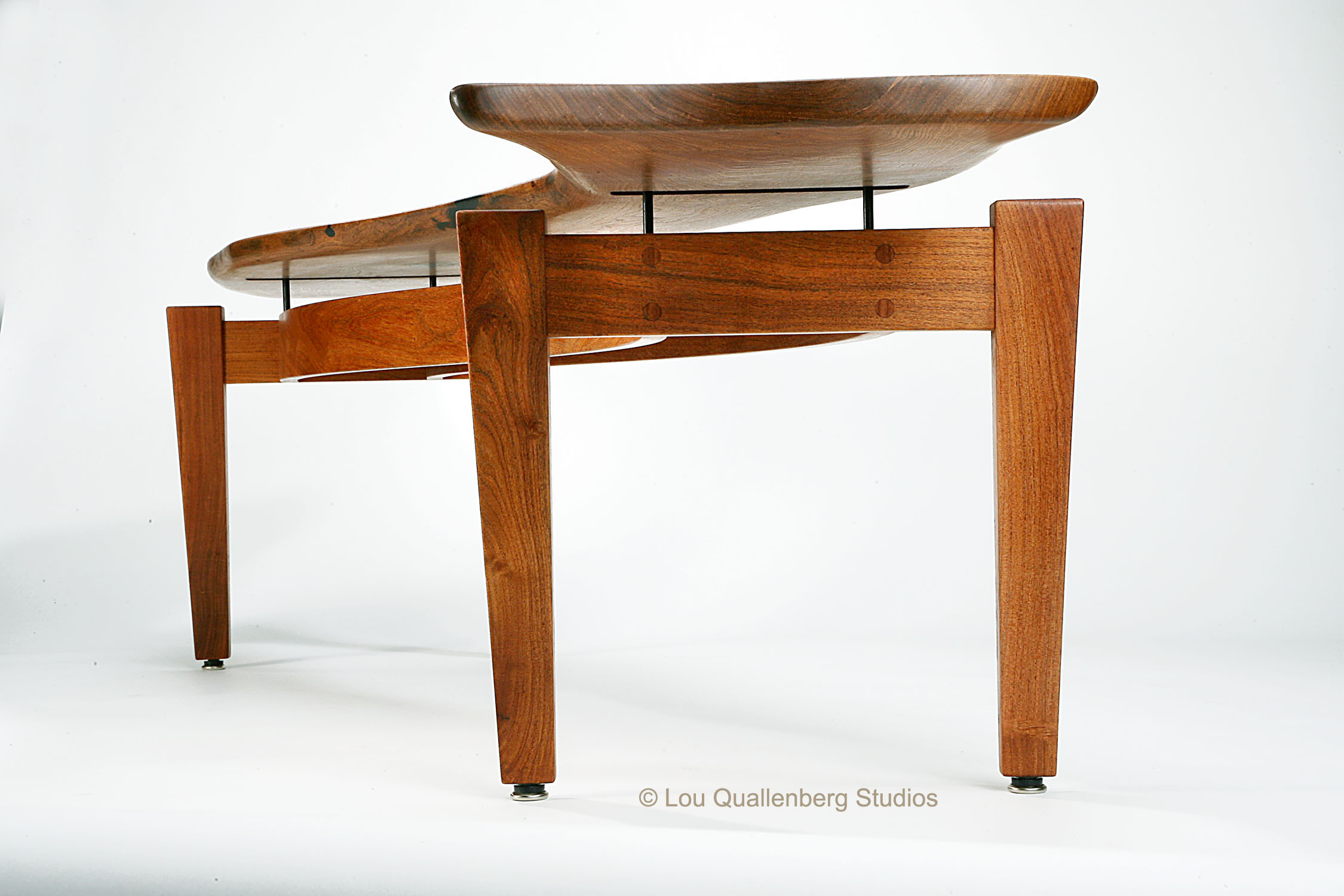 About The Artist Lou Quallenberg And His Contemporary Texas Mesquite Furniture