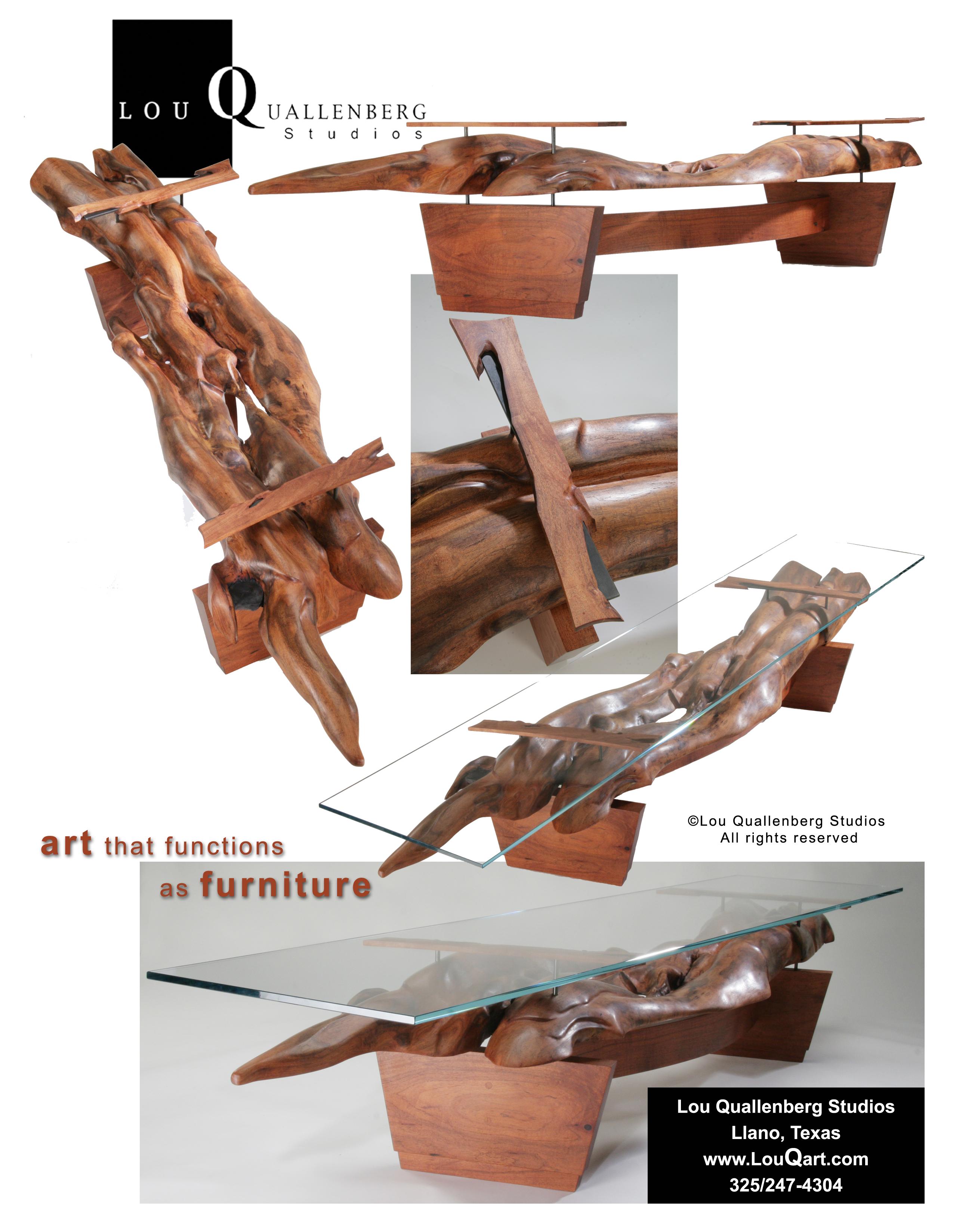 Mesquite Furniture by Lou Quallenberg Studios