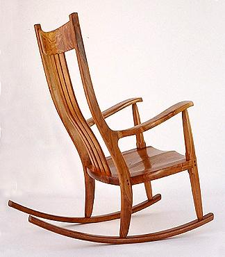 The Weeks Rocker is guaranteed to be the most comfortable  the most  beautiful  and the best constructed rocking chair that you have ever  experienced. Mesquite Furniture Maker Directory