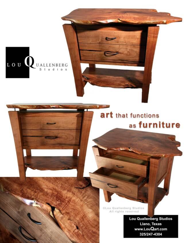 Mesquite Bedroom Furniture By Lou Quallenberg Studios
