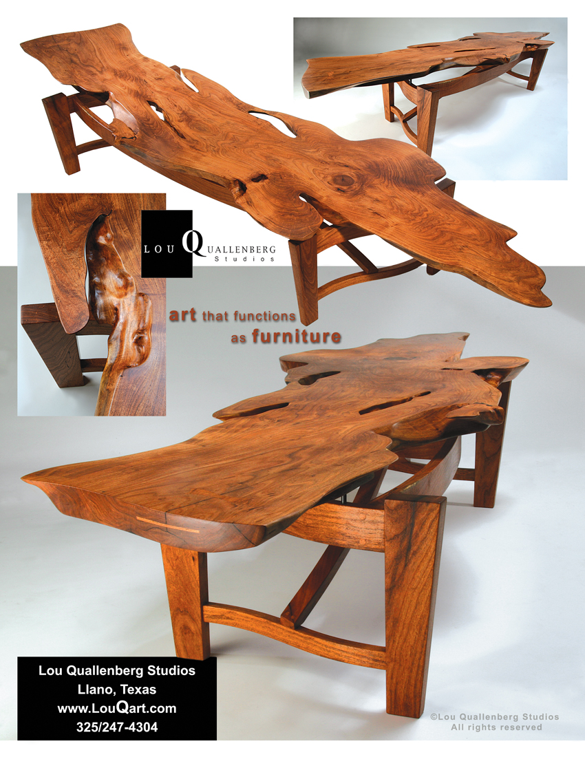 Jackson Sister Also Won The Best Texas Style Furniture Award At The Texas  Furniture Makers Show® In Kerrville In 2008. So These Mesquite Slabs Have A  Great ...