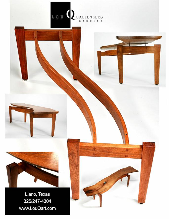 top furniture makers. S-Curve Mesquite Coffee Table 2011 Furniture Committee Award Winner Texas Makers Show Top