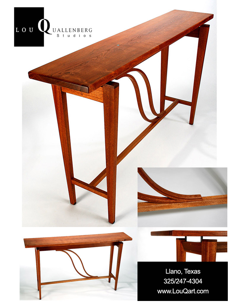 Portfolio of Contemporary Mesquite Furniture by Lou