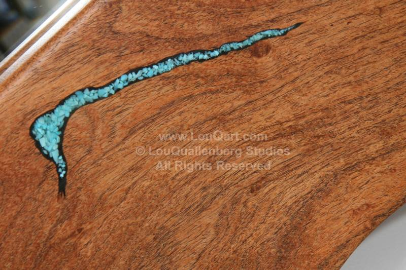 Turquoise Inlaid Mesquite Our Process